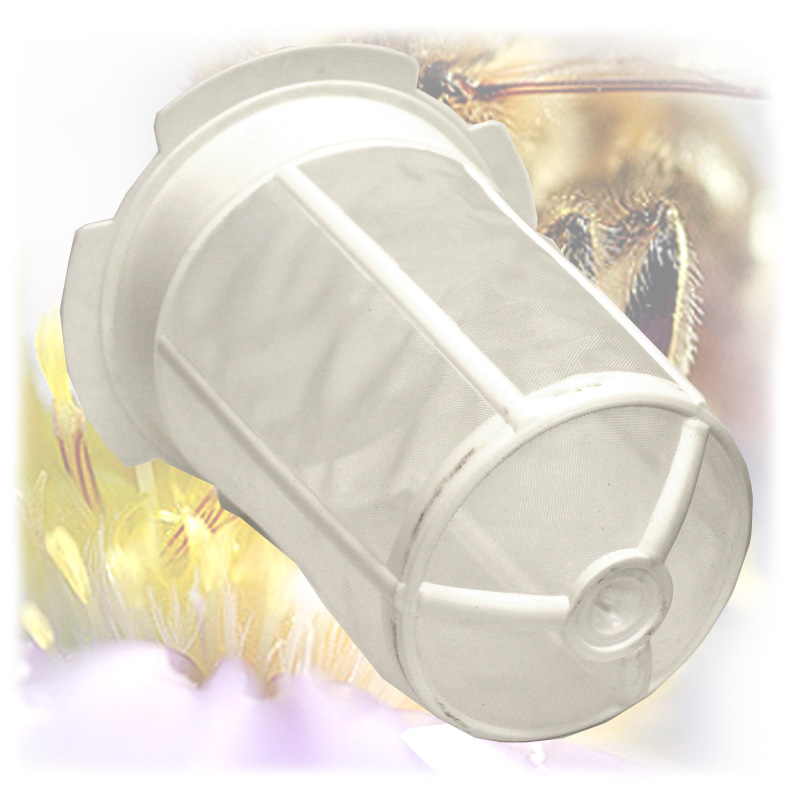 Cedník na med plastový kužel-3