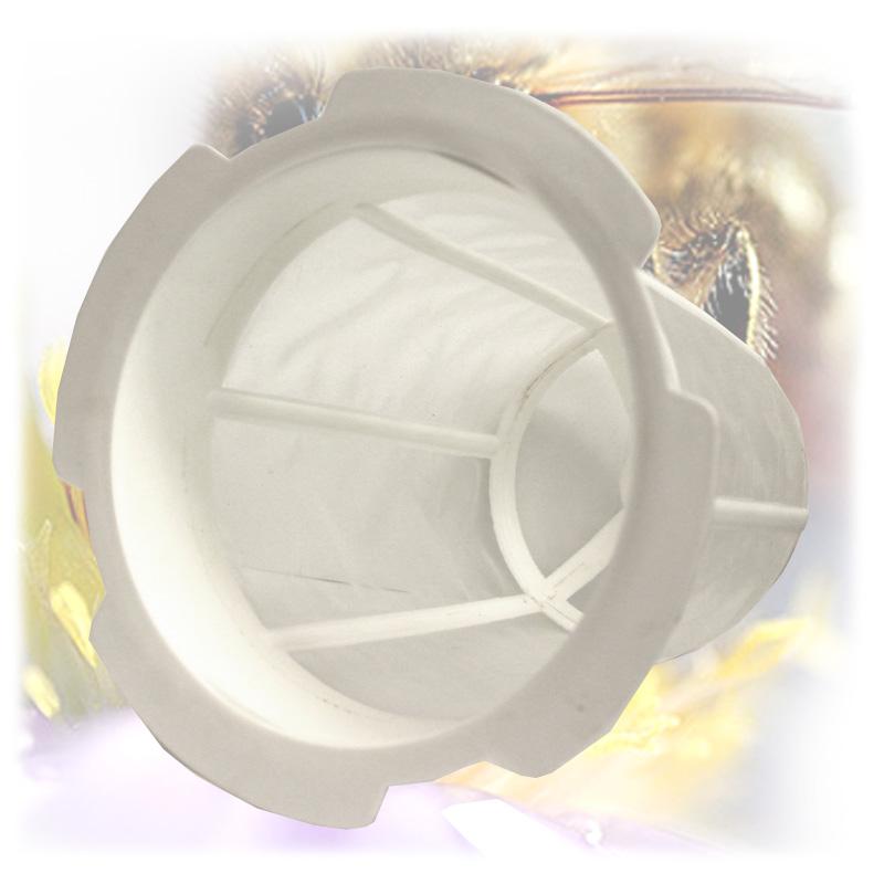 Cedník na med plastový kužel - nerez-4