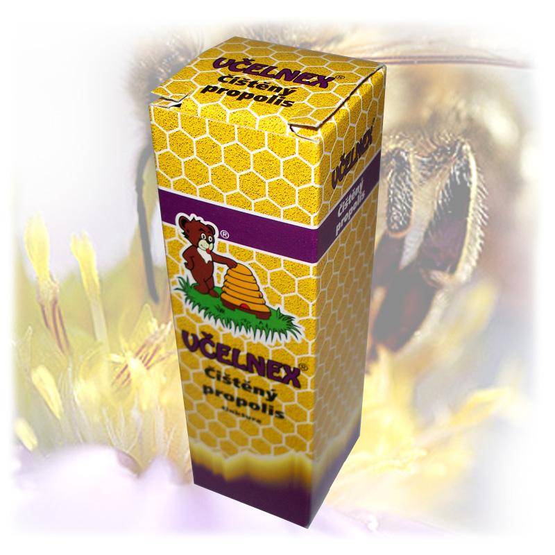 Čištěný propolis - tinktura včelnex 2