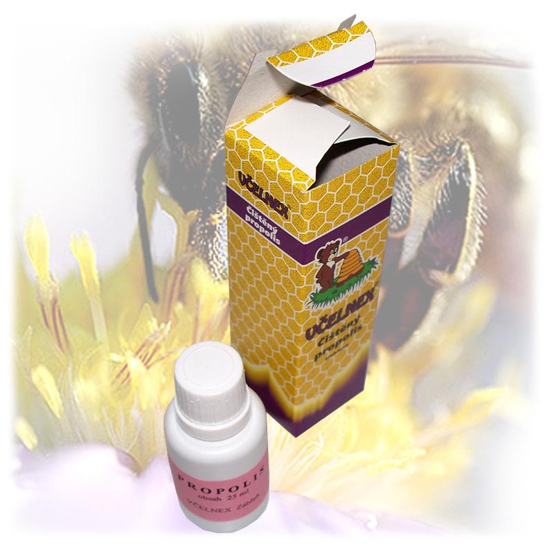Čištěný propolis - tinktura včelnex 1