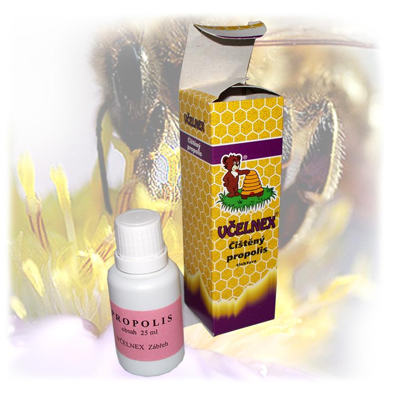 Čištěný propolis - tinktura včelnex 3