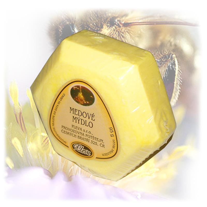 Medové mýdlo-1