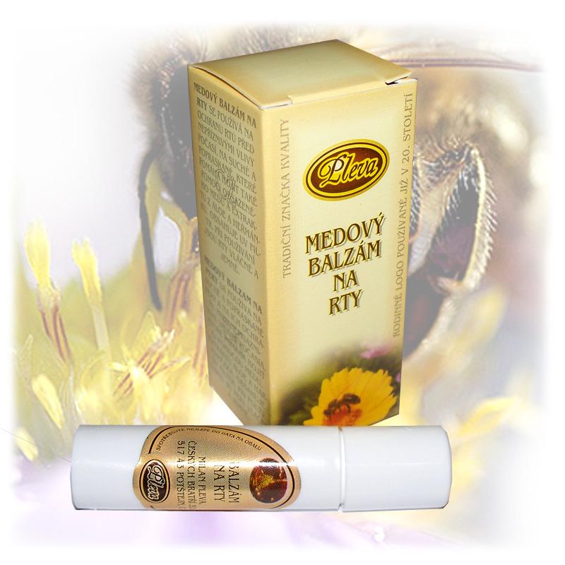 Medový balzám na rty - kulička-3