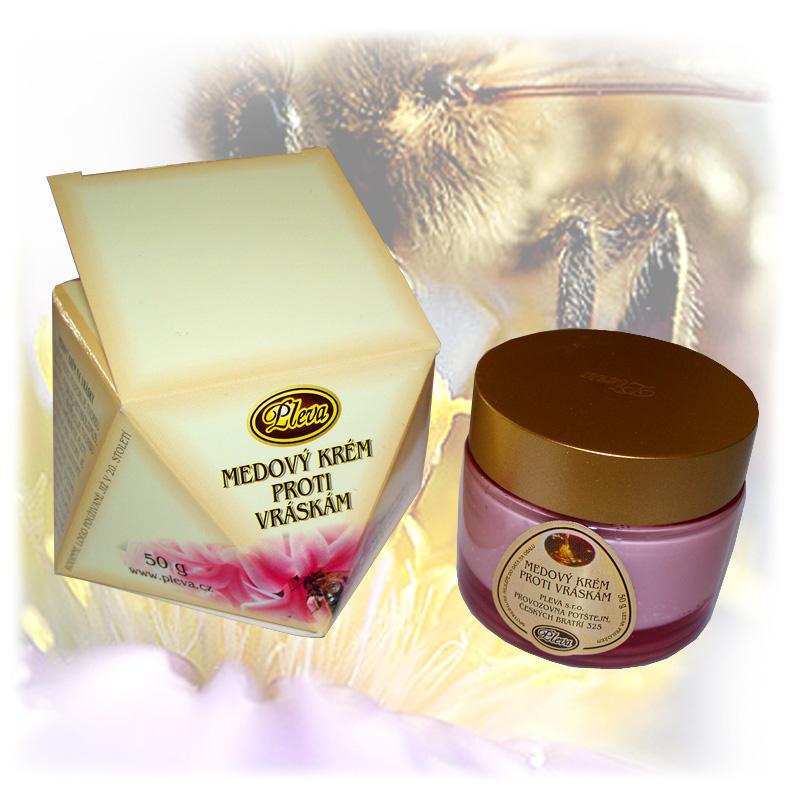 Medový krém proti vráskám-1