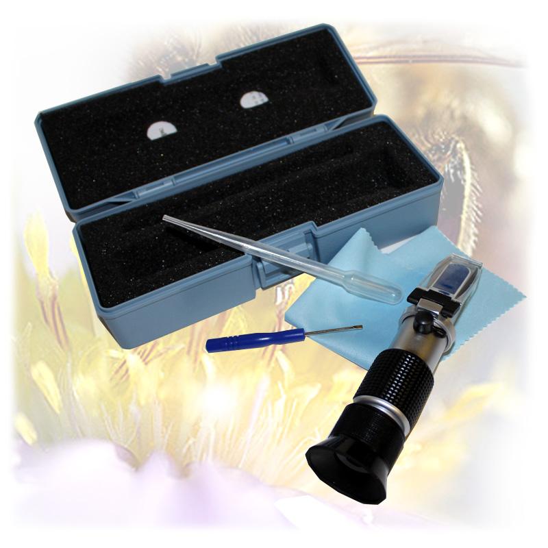 Refraktometr - k měření obsahu vody v medu, cukroměr-1.