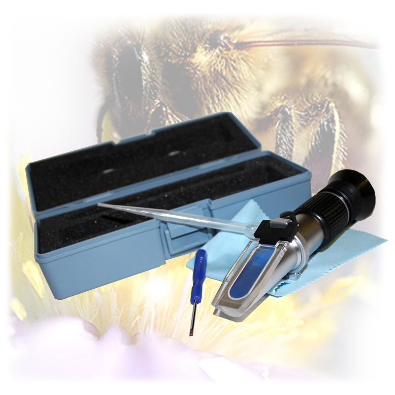 Refraktometr - k měření obsahu vody v medu, cukroměr-2.