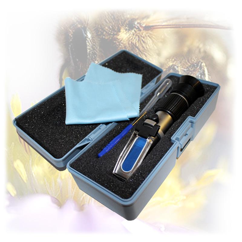 Refraktometr - k měření obsahu vody v medu, cukroměr-3.