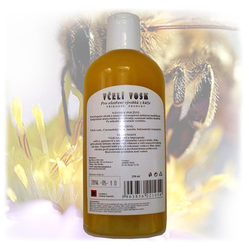 Včelí vosk pro ošetření kůže 3