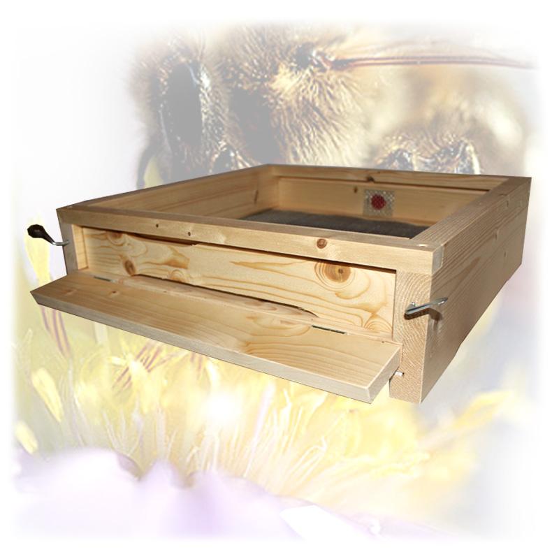 Dřevěné Varroa celozasíťované dno 3