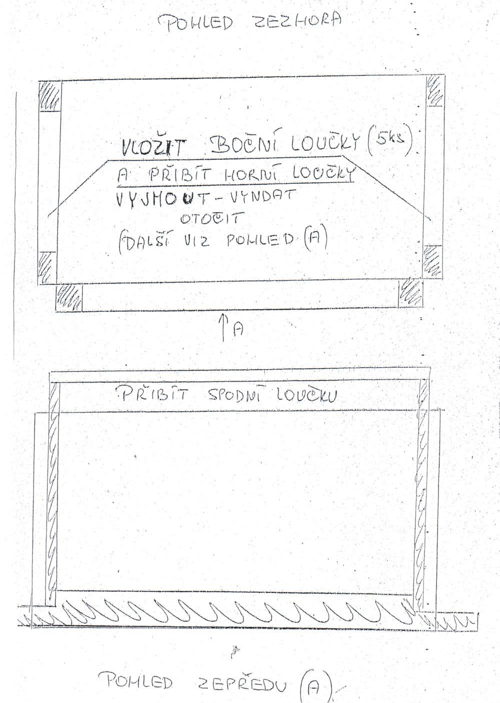 Forma na sbíjení rámků 39x24-1